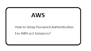 How to Setup Password Authentication For AWS ec2 Instances