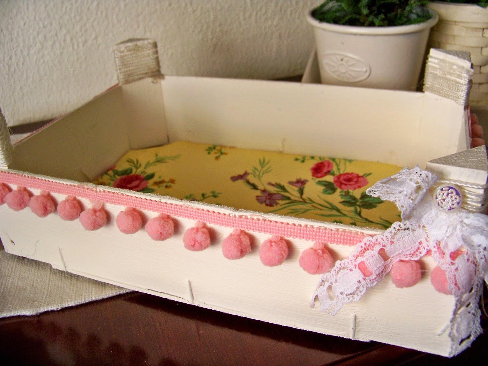 Come y disfruta de vuelta con un diy cajas decoradas - Caja fruta decoracion ...