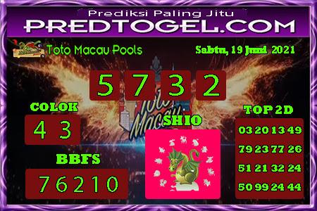 Pred Macau jumat 18 juni 2021