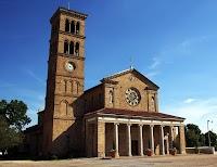 Romanesque Revival: St. John the Evangelist in Plachemine, Louisiana