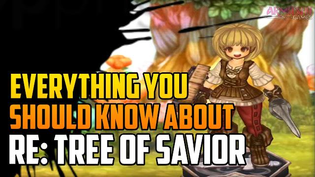 re tree of savior beginners guide