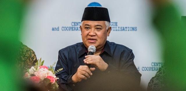 Din Syamsuddin: Wacana Anti Radikalisme Menyakiti Hati Umat Islam