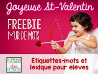 https://www.teacherspayteachers.com/Product/French-Word-wall-Valentines-Day-FREEBIE-2358139