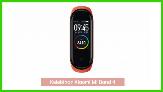Kelebihan smartwatch xiaomi mi band 4