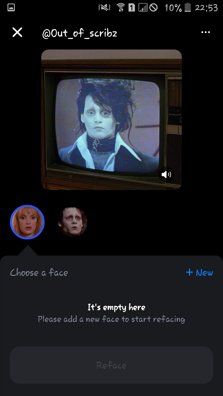 Mengganti Wajah Pada Potongan Film