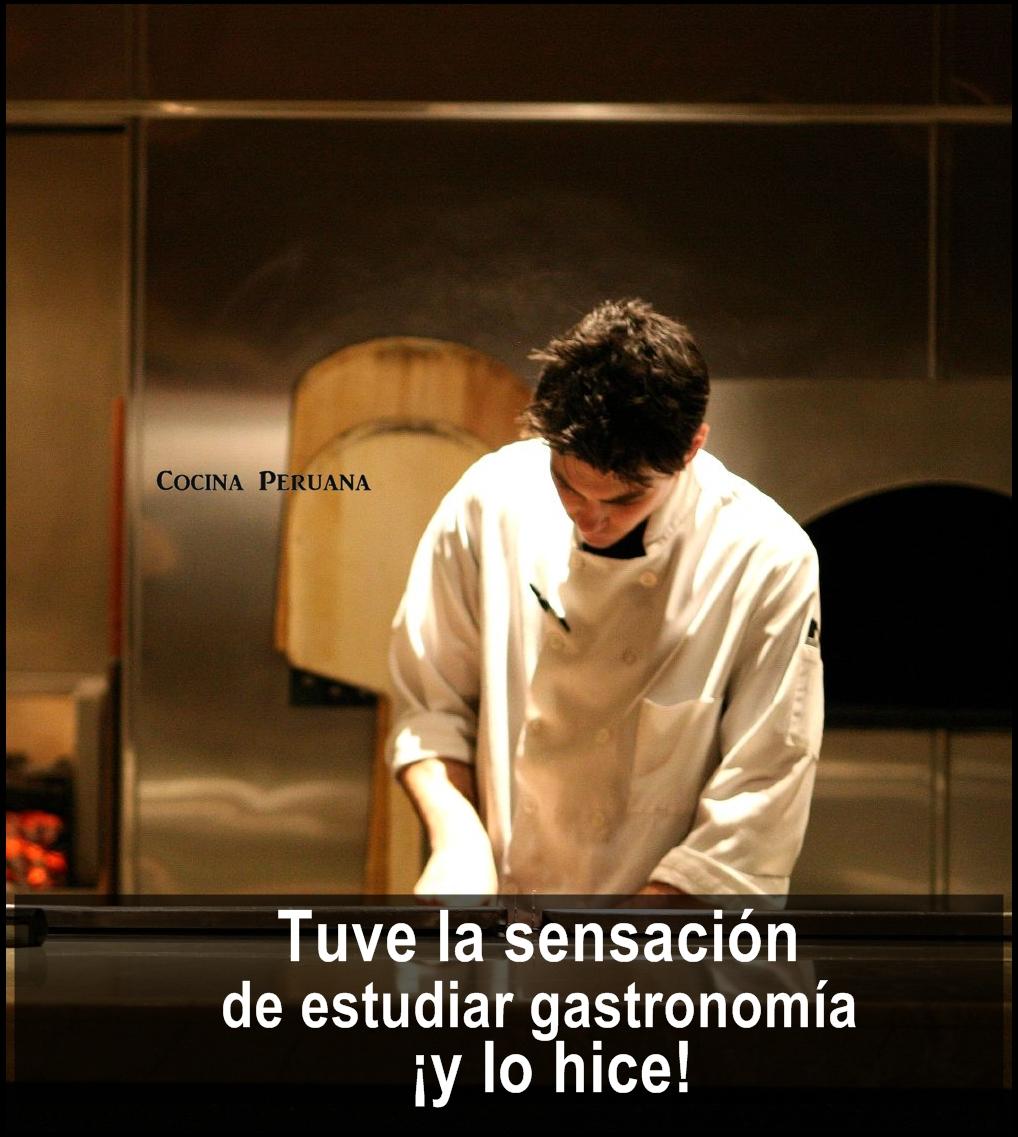 perfil de un chef