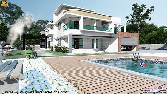 6 bedroom luxury house with pool