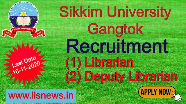 Librarian and Deputy Librarian at Sikkim University