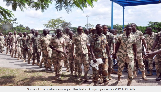 soldiers mutiny death sentence suspended
