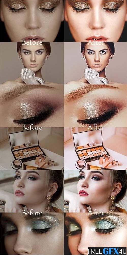 Perfect Makeup Lightroom Presets