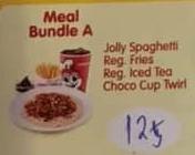 Jollibee Party Meal Bundle A