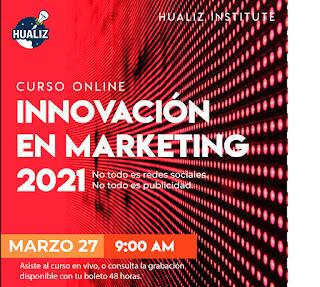 Curso online - Innovación en Marketing 2021.