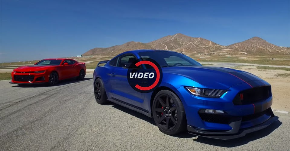 new camaro zl1 has more power but is it better than the shelby gt350r. Black Bedroom Furniture Sets. Home Design Ideas
