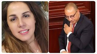 صحفية ريم بالخذيري تطلق صيحة فزع فيقو يا توانسة... راهو سقوط المشيشي سقوط لتونس و شعب بالكامل