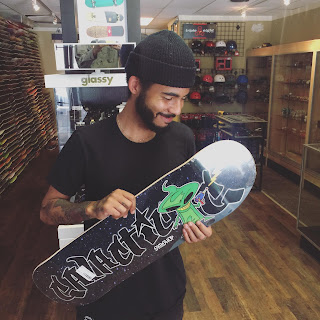 skateboard shop team rider new