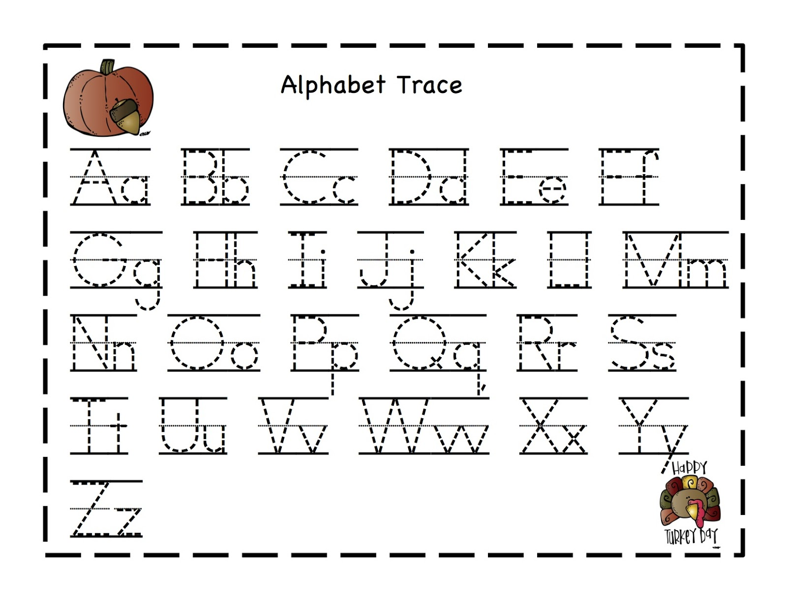 Preschool Printables October