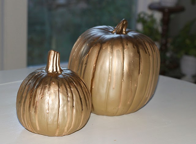 I Bought A Few Cute Gl Pumpkins 50 Off Yay And Can T Wait Until It S Time To Display Them Do You Have Any Fall Projects Are Already Working