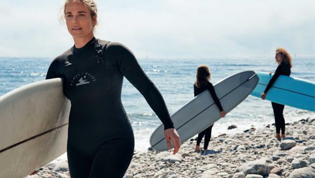 Pianka surfingowa dla kobiet