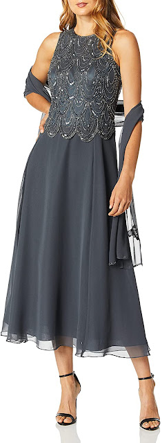 Cute Grey Mother of The Groom Dresses