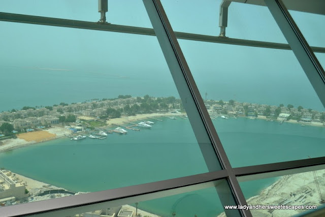 another view of Abu Dhabi's coast from Marina Mall Sky Tower