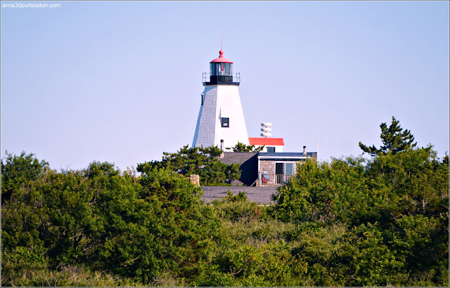 Faros de la Costa Sur de Massachusetts: Plymouth [Gurnet] Lighthouse