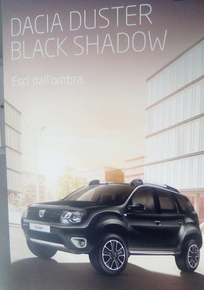 I love shopping cars nuova dacia duster black shadow for Dacia duster black shadow interni