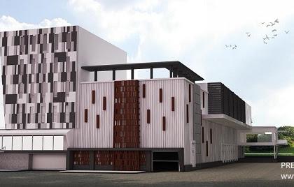 Jasa Desain Perkantoran Gudang Bangunan Besar