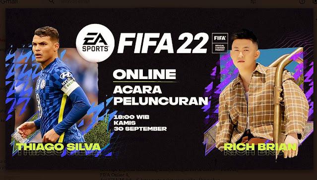 Launching FIFA 22, EA SPORTS Kolaborasi dengan Rich Brian