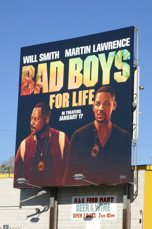 Bad Boys For Life movie billboard