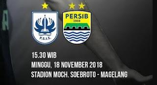 Prediksi PSIS Semarang vs Persib Bandung - Liga 1 Minggu 18 November 2018