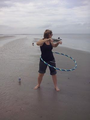hula hoop beach
