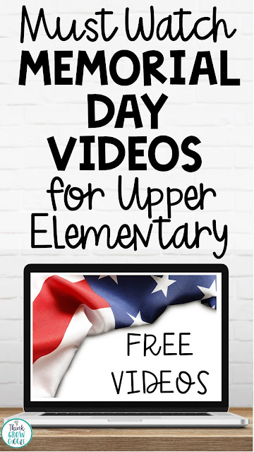 memorial day activities upper elementary