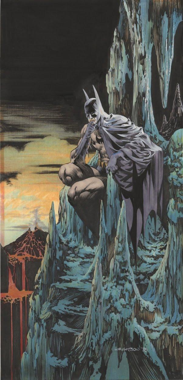 The Dork Review Bernie Wrightson S Batman