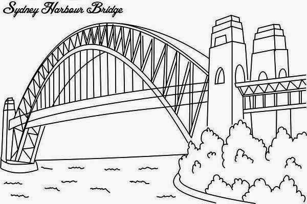 bridge coloring book pages | Dibujos para colorear. Maestra de Infantil y Primaria ...