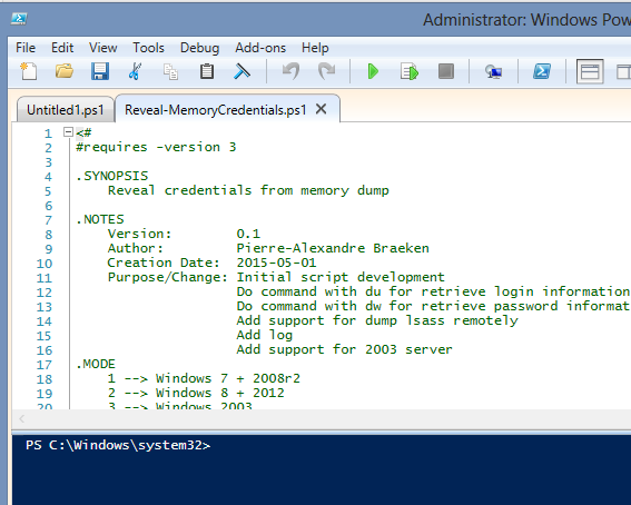 How to hack Windows password using Powershell | Blog of Gabriel