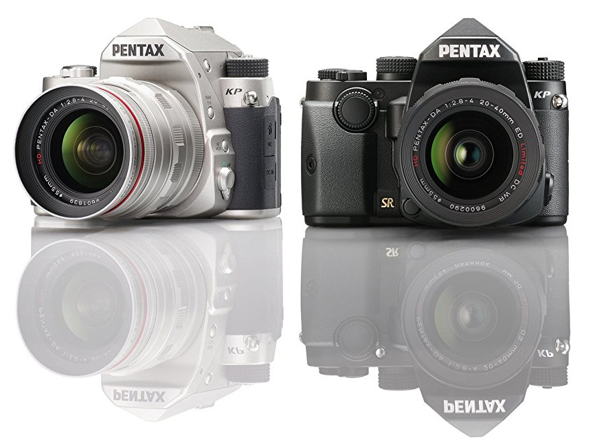 Pentax KP в двух цветах