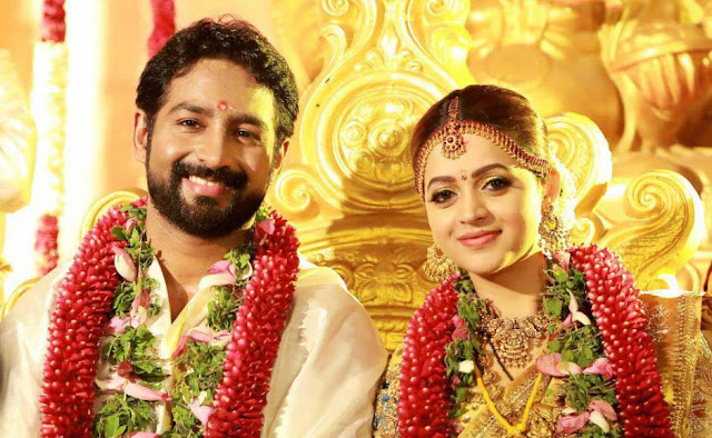 Bhavana Marriage with Naveen