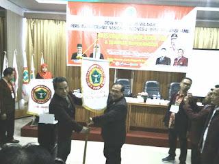SAH, Ns.Umar,S.Kep.MKM Pimpin DPW PPNI Provinsi Jambi Periode 2020-2025.
