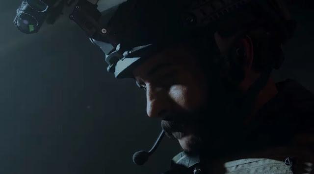 call of duty modern warfare sad captain price