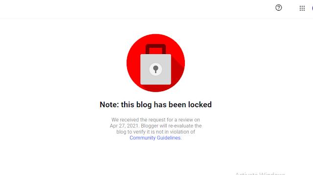 Upomoć! Blogger je zaključao moj blog! Šta da radim?