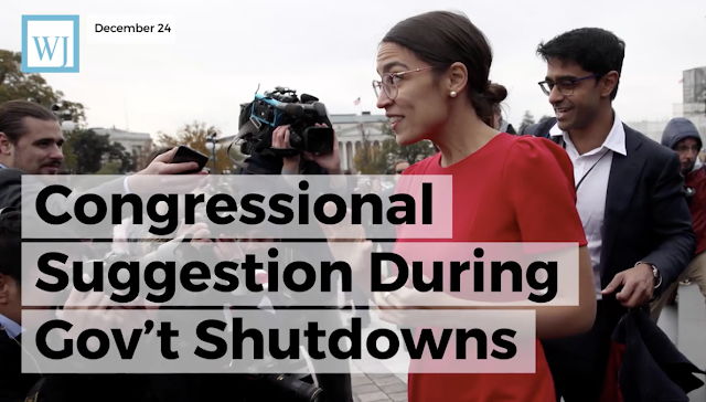 Ocasio-Cortez Wins Over Some Conservatives With Congressional Suggestion During Gov't Shutdown