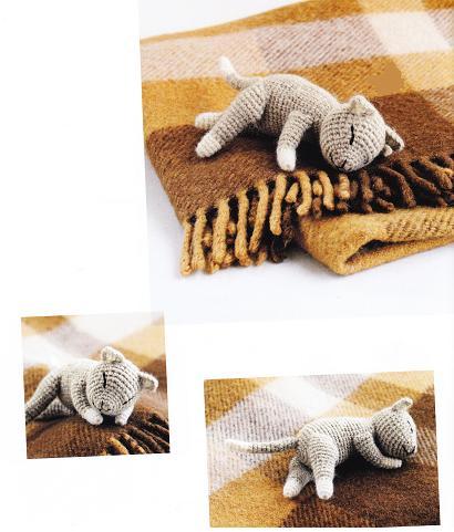Laid-Back Cat Amigurumi | Crochet cat, Cute crochet, Crochet amigurumi | 481x410