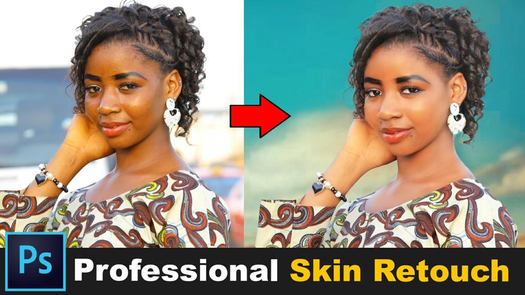 skin retouching free actions