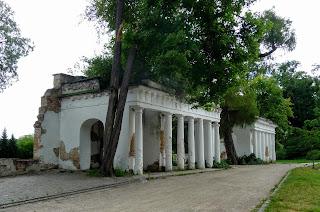 Біла Церква. Дендропарк «Олександрія». Руїни на Лазневому ставі