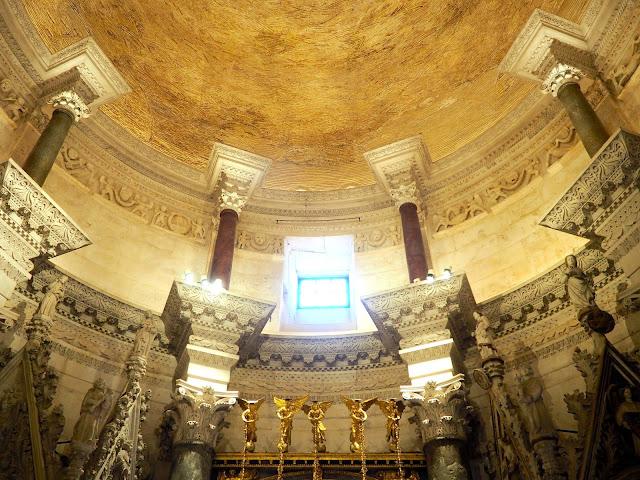 Interior of Saint Domnius Cathedral, Diocletian's Palace, Split, Croatia