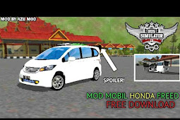 Mod Honda Freed Bussid