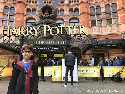 Harry Potter and the Cursed Child outside theatre