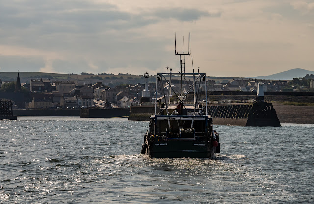 Photo of commercial fishing boat Our James returning to Maryport