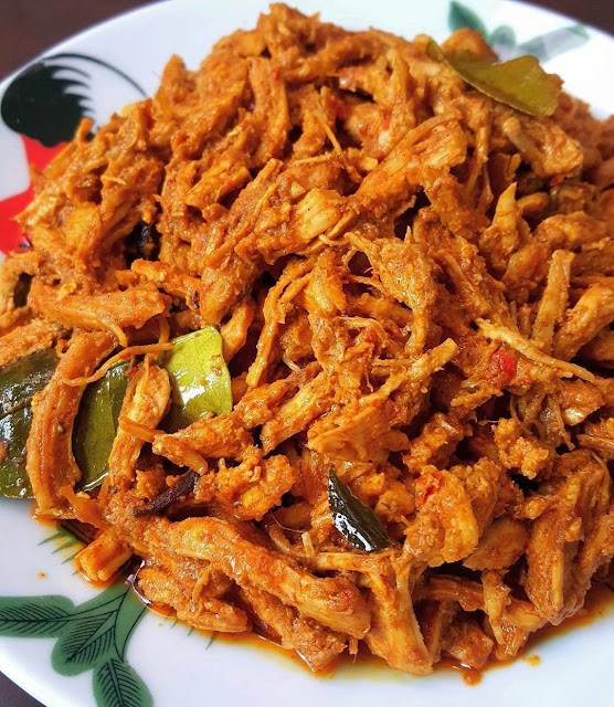 Resep Ayam Suwir / Shredded Chicken with spices