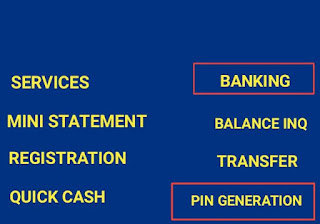atm pin generation